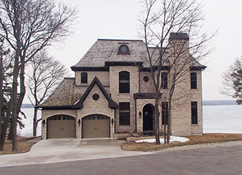 Cornerstones past project - home on Lake Simcoe