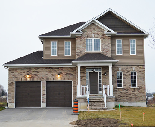 Cornerstones past project - home in Stayner